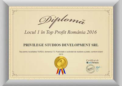 Diploma top profit loc1